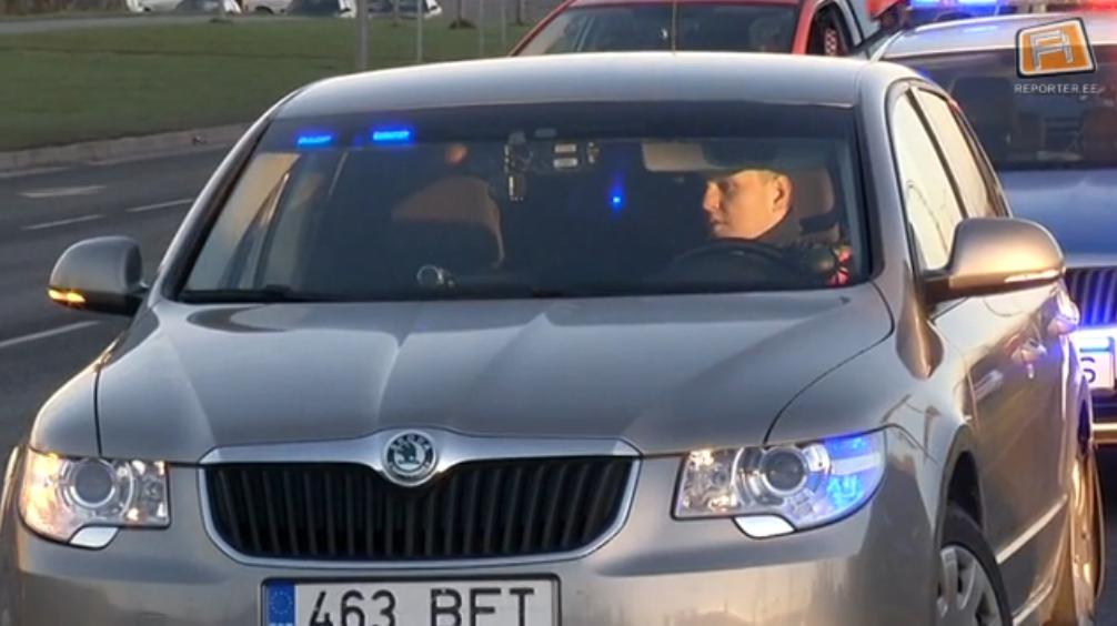 Liiklusjärelevalves on iga viies politseiauto eravärvides