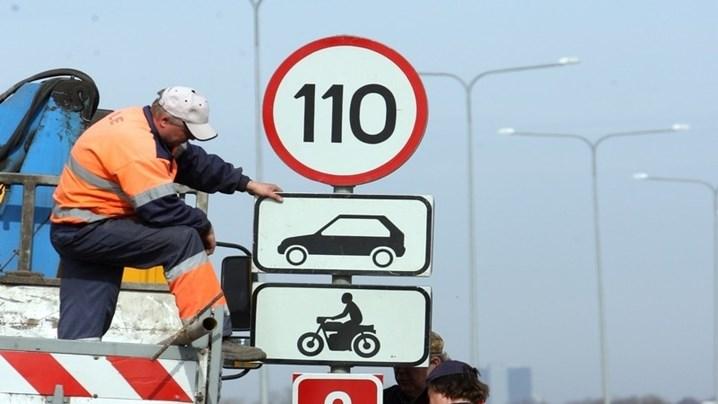 Maanteeamet alustas piirkiiruste tõstmisega