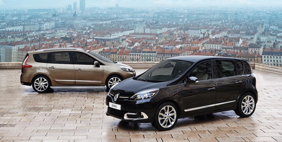 Renault Scénic: Tagasivaade Renault' kompaktse mahtuniversaali kolmele põlvkonnale