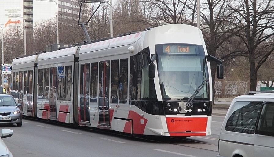 Tallinn ostab kaheksa uut trammi
