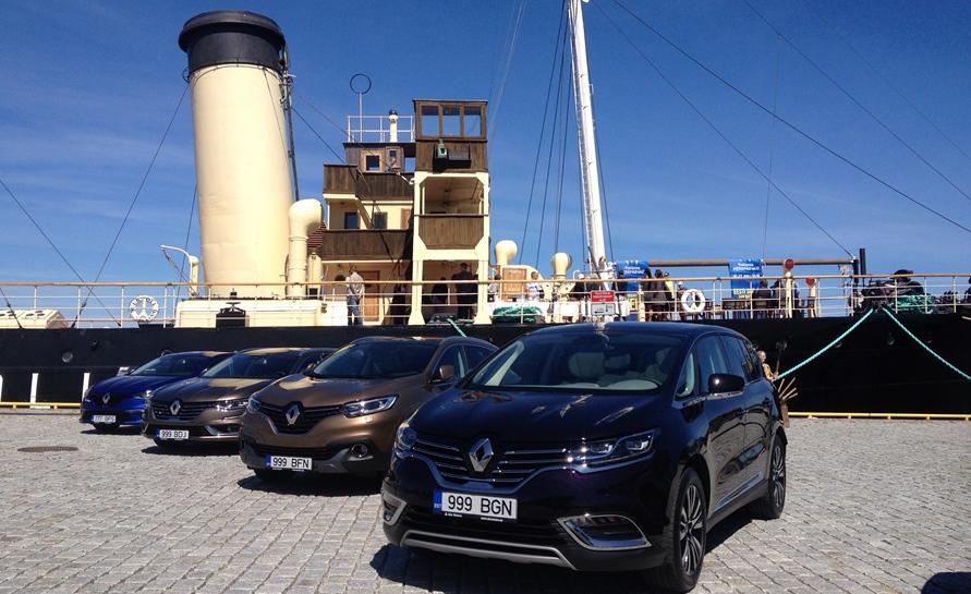 Tallinna Merepäevad sõidavad Renault'ga