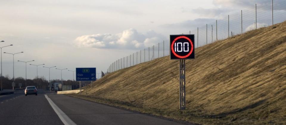 Elektroonilised liiklusmärgid muudavad piirkiiruseid