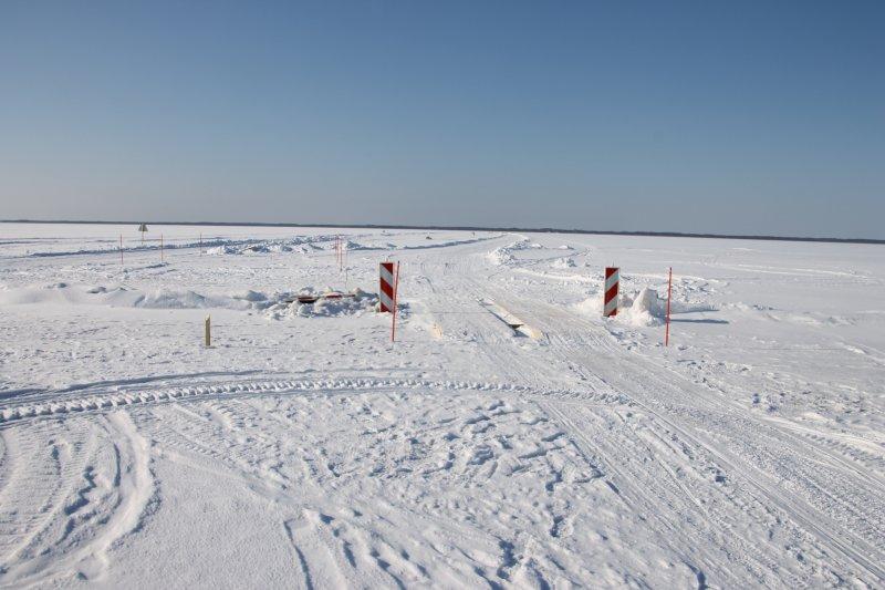 Kõik jääteed on suletud