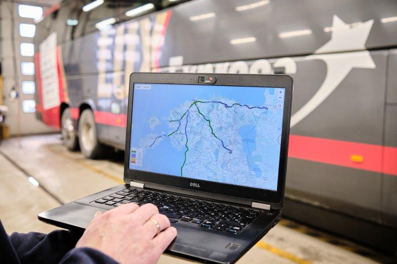 Ohutus suureneb: liinibussidele paigaldatakse uued teeseisu mõõtvad andurid