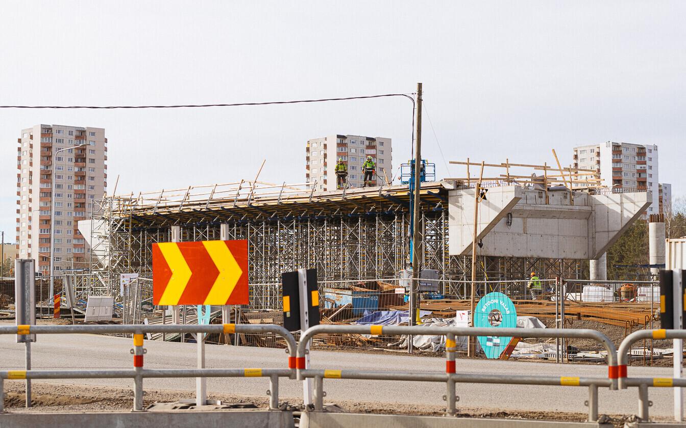 Väo uus liiklussõlm Tallinna piiril ehitatakse kahetasandiliseks